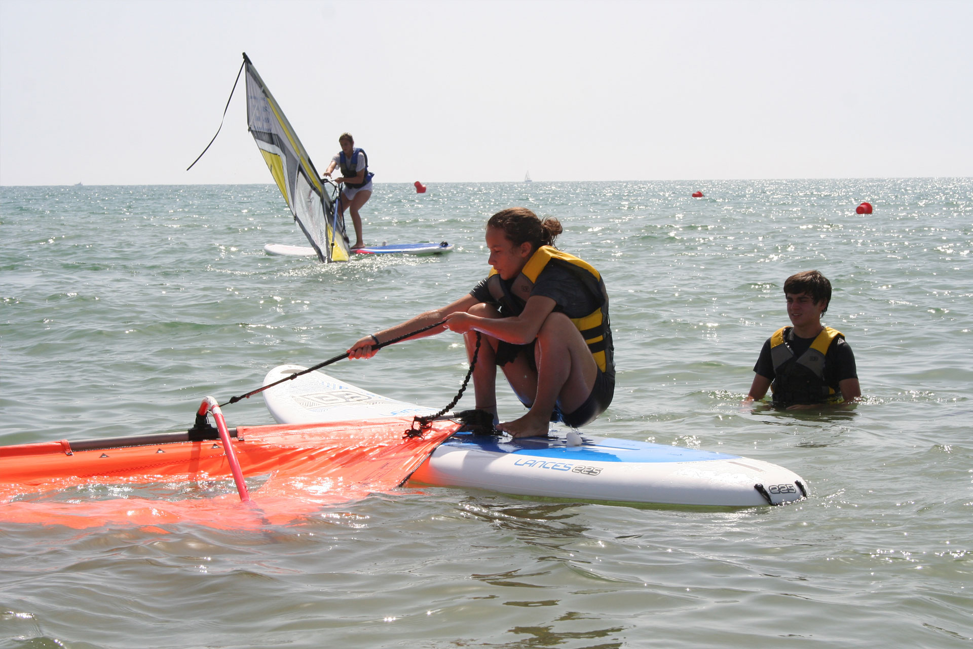 Curso de windsurf en Guardamar